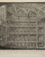 Interior of the late theatre Drury Lane