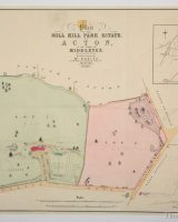 Mill Hill Park Estate at Acton 1873