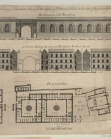 Design for Newgate prison