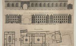 Design for Newgate prison