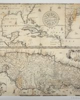 17th century maps of the Caribbean