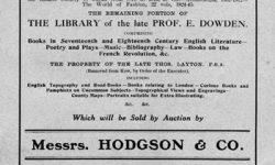 Auction Catalogue 21 January 1914