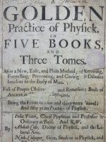 A Golden Practice of Physick
