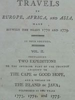 Travels in Europe, Africa and Asia between the years 1770 and 1779. Vol. II