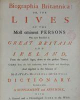 Biographia Britannica Vol VI, Part 2