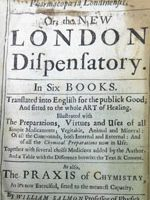 Pharmacopoeia Londinensis or, The new London dispensatory